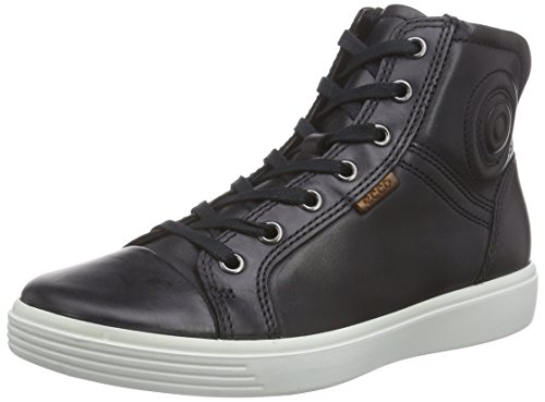 Ecco Unisex-Kinder S7 Teen High-Top, Schwarz (2001black), 39 EU