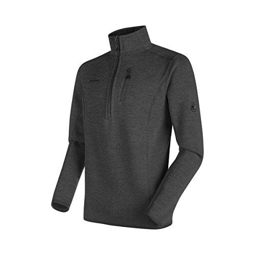 Mammut Herren Midlayer Fleece-Pullover Arctic mit Reissverschluss (Fleece Zip Half Polyester Pullover)