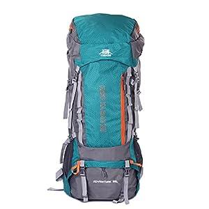Mooedcoe 95L Mochila Trekking Senderismo Grande Mochila Montaña Hombre Impermeable de Viaje Acampada Excursionismo…