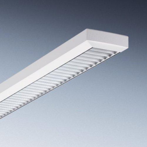 Trilux Rasterleuchte Atirion, Weiß, Aluminium/ Metall, 5155102