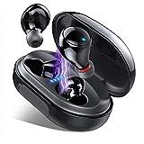 Écouteurs Bluetooth, Ecouteur sans Fil Etanche IPX8 120H TWS Stéréo 3500mAh Etui de Charge, Oreillette Bluetooth 5.0 avec Mic, CVC 8.0 Réduction du Bruit, Écouteurs Bluetooth Sport pour iOS, Android