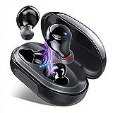 Ecouteur Bluetooth, Ecouteur sans Fil Etanche IPX8 120H TWS Stéréo 3500mAh Etui de Charge, Oreillette Bluetooth 5.0 avec Mic, CVC 8.0 Réduction du Bruit, Écouteurs Bluetooth Sport pour iOS, Android