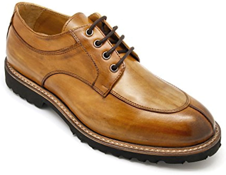 Exton scarpe uomo stringate Made in  tomaia pelle anticata   I Materiali Superiori    Uomo/Donne Scarpa