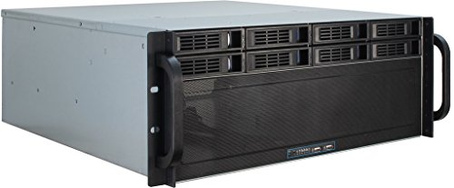 Inter-Tech 88887191 Case IPC Storage 4U-4408, o.PSU