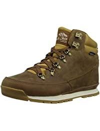 THE NORTH FACE Herren Back-to-Berkeley Redux Leather Trekking-& Wanderstiefel, Chocolate Golden Brown