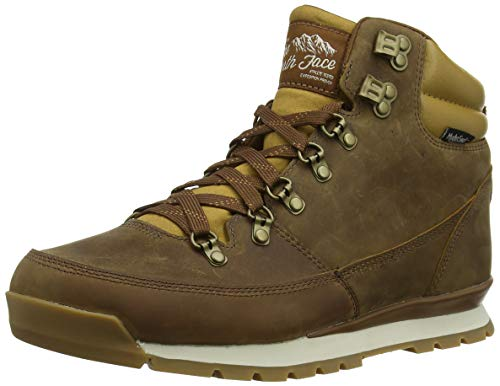 The North Face Back-to-Berkeley Redux Leather, Stivali da Escursionismo Alti Uomo, Marrone (Dijon Tagumi Brown 5wd), 40.5 EU