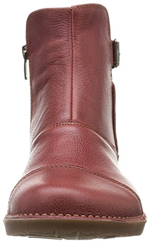 ART BERGEN Damen Kurzschaft Stiefel Rot (AMARANTE)