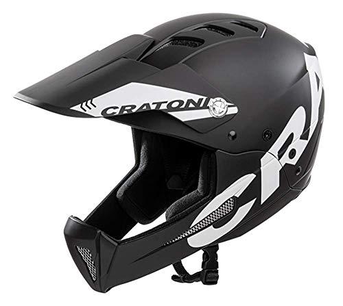 Cratoni All Mountain Helm Shakedown (M-L (57-61 cm), Black-matt (schwarz))