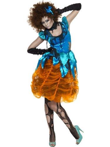 Killerellakostüm für Halloween böses Mädchen Kostüm Killerella Halloweenkostüm Damen Märchen Gr. 36/38 (S), 40/42 (M), 44/46 (L), (Mädchen Kostüme Böse)