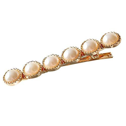 Daaimi Perle Mädchen Haarklammern Mode Haarclips Süße Kinder Haarklammern Dekorative Braut Haarspangen Handmade Haarschmuck für Mädchen