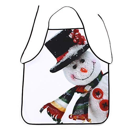 Mitlfuny✈✈✈Weihnachten KüChe KochschüRze GlüCkliches Weihnachtengeschenk FüR Mutter, Ehefrau, ()