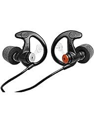 Surefire EP7 Sonic - Protectores de oído (espuma, tamaño mediano), color negro