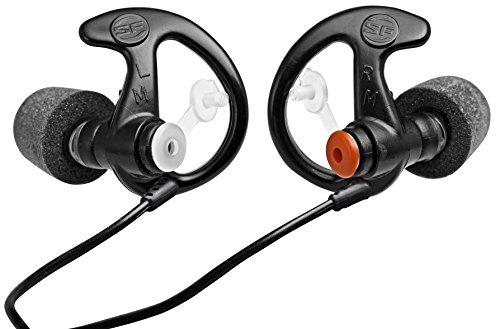 Surefire Erwachsene Gehörschutz EP7 Geräusch-Filternde Sonic aus Schaumstoff, Schwarz, M, LAS-EP7-BK-MPR Sonic In Japan