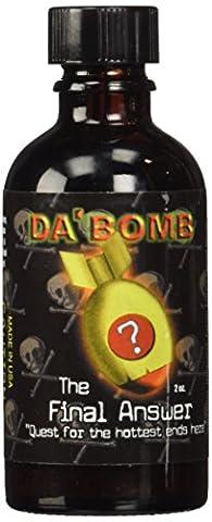 Da'Bomb The Final Answer Hot Sauce, 2-Ounce Glass