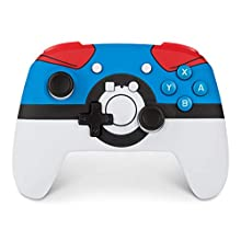 Enhanced Wireless Controller for Nintendo Switch and Nintendo Switch Lite - Pokemon great Ball