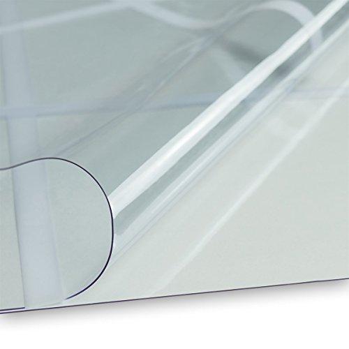 LYSEL PVC Fensterfolie 0,5mm Karofolie Zeltfensterfolie für Zelte Campingvorzelte Breite 132cm...
