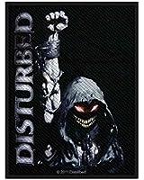 Disturbed Aufnäher - Eyes - Disturbed Patch - Gewebt & Lizenziert !!