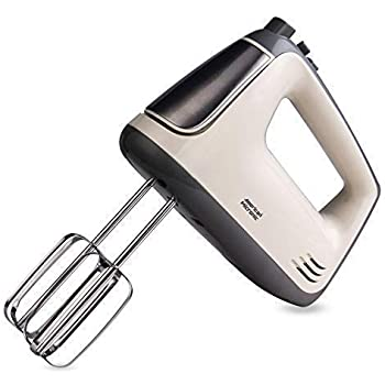 American Micronic AMI-HM1-300WDx - 5 Speed Hand Mixer 300W Copper Motor, Stainless Steel Blades with Turbo Function