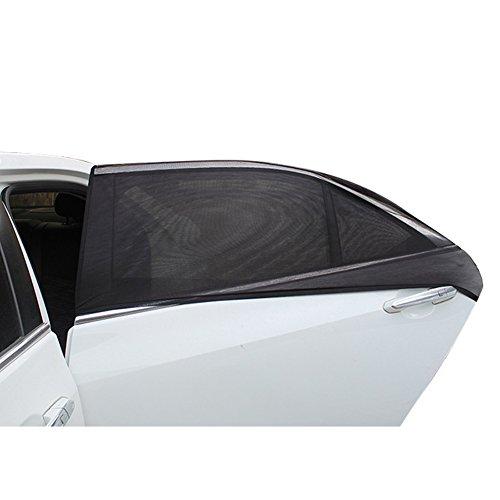 SYXZFZ 2x Auto Fenster, Sonnenschirme, Vorderseite Fenster Sonnenschutz für Baby, Auto Seite UV-Schutz Sun Shades-Fenster für Auto/SUV/Geländewagen, M - Shade Fenster Auto Seite