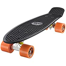 Ridge 55 cm Mini Cruiser Retro Stil in M Rollen Komplett U Fertig Montiert Skateboard
