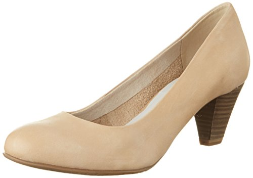 Tamaris Damen 22400 Pumps, Beige (Nude 251), 39 EU