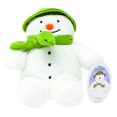 Rainbow Designs Snowman Bean Toy for Newborn 15cm  (White)