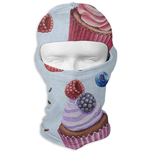 Vidmkeo Balaclava Colored Giraffe Polka Dot Full Face Masks Motorcycle Neck Hood Unisex14 Polka Dot Hood