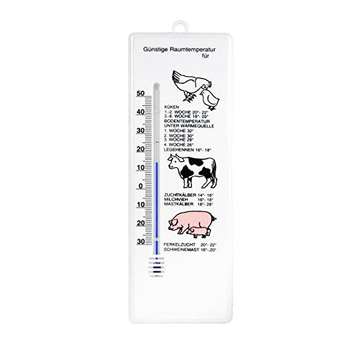 Analog Hühner Schweine Ferkel Rinder Zucht Stall Thermometer . Stallthermometer