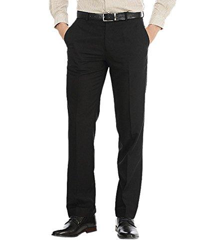 AD & AV Men's Formal Trouser (SAIBLACK32) - Black - 32