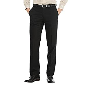 AD & AV Men's Regular Fit Formal Trousers