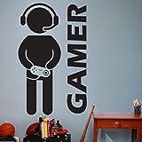 fancjj Videospiel Gaming Gamer Wandaufkleber Vinyl