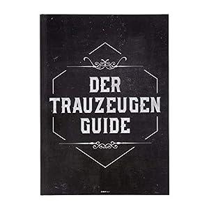 Aufgaben Trauzeuge, Der Trauzeugen Guide - Heft, Trauzeugen Fragen - Geschenkidee mit Checkliste und Tipps für den JGA, die Rede und die Antwort auf: Was macht ein Trauzeuge