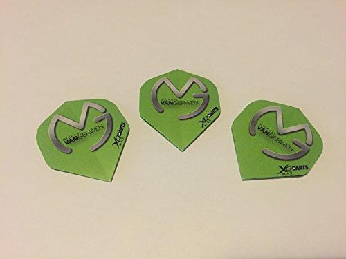 michael-van-gerwen-logo-verde-dardos-1-set-de-3-plumas-free-pegatina-para-coche