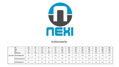 Nexi Funktionsunterwäsche Damen Langarmshirt Zipper ideal zum Sport, Alltag oder Skifahren aus der Winteractive Line Schwarz