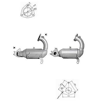 Catalyseur RENAULT MEGANE 2.0i 16V Turbo 1995 cc 170 Kw / 230 cv F4R 3/04>10/08