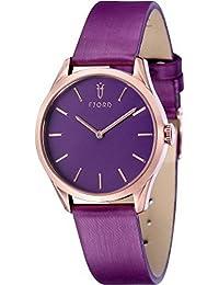 Fjord Analog Purple Dial Women's Watch - FJ-6028-06