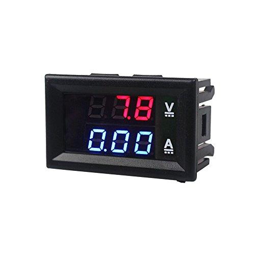 iHaospace Voltmeter Amperemeter Modul DSN-VC288 mit LED Display für Arduino und Raspberry Pi (Volt- Amperemeter) -