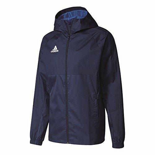 Adidas Tiro 17 Rain Jacket Chaqueta, Hombre, Azul Maruni/Blanco, S