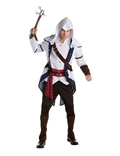 Generique - Connor Assassins Creed Kostüm für Erwachsene - Assassin's Creed Altair Kostüm