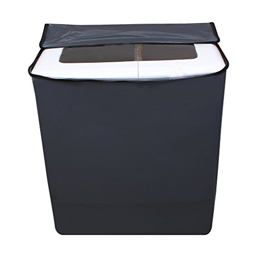 Lithara Grey Waterproof & Dustproof washing Machine Cover For panasonic Semi Automatic Top Load -All size model  available at amazon for Rs.359
