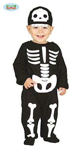 Kostüm-Baby-Skelett Horror Verkleidung (Baby Skelett-kostüm Für)