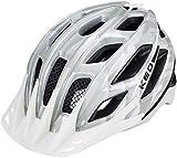 KED Companion Helmet White Grey Glossy Kopfumfang L | 55-61cm 2018 Fahrradhelm