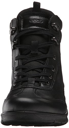 Ecco - Babett Boot, Anfibi Donna Nero(Black/Black 51707)