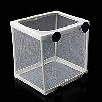 Bomcomi Aquarium Fish Tank Guppy Breeding Breeder Fish Baby Gauze Trap Box Isolator