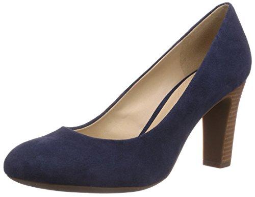 GeoxD NEW Mariele HI - Scarpe con Tacco Donna , Blu (Blu (Navyc4002)), 40