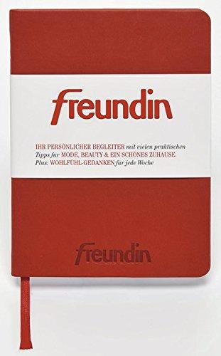 Freundin Kalender 2017 - Taschenkalender, Buchkalender  -  Blattformat: 10,2 x 13,8 cm - Wohn-alphabet