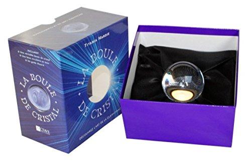 Coffret Boule de cristal 5,9 cm + guide