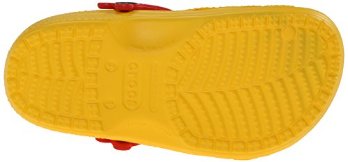 Crocs CC Mickey Paint Splatter K, Zoccoli e sabot, Unisex - bambino Giallo (Yellow)