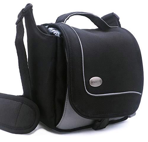 Extra Large Camera Bag (Baxxtar SportsBag - schwarz - Kameratasche zu Lumix DC FZ1000 II FZ82 DMC FZ2000 FZ1000 FZ300 FZ72 - CyberShot DSC RX10 III IV HX400 - PowerShot SX70 HS SX540 HS)