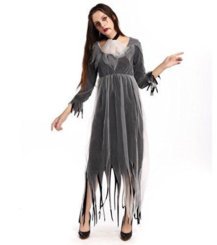 Piraten Verkauf Für Kostüm - HAOBAO Frauen-Halloween-Geisterbraut Kostüm Dreadful Zombie-Kleid für Erwachsene, XL